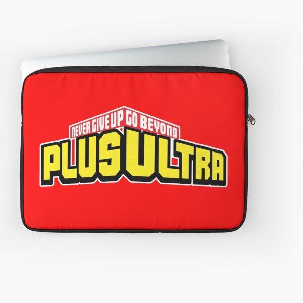 My Hero Academia PLUS ULTRA! Never Give Up (Boku No Hero Academia) Laptop Sleeve