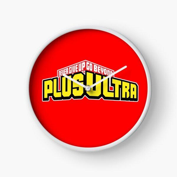 My Hero Academia PLUS ULTRA! Never Give Up (Boku No Hero Academia) Clock