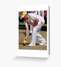 M.B.A. Bowler no. d094 Greeting Card
