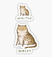 Ocelittle Ocelot Sticker