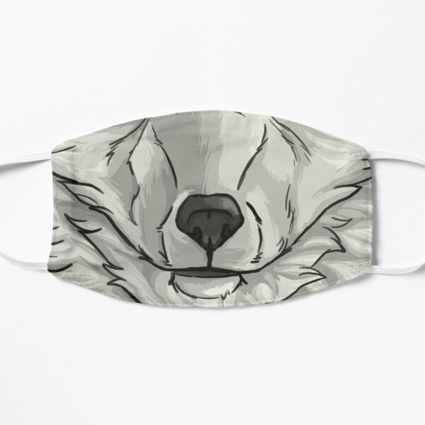 Arctic Fox Small Mask