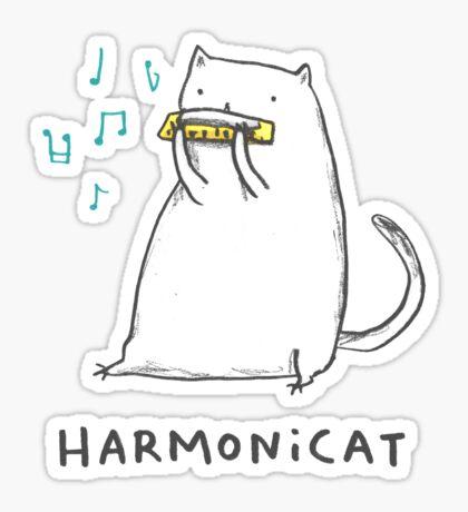 Harmonicat Sticker