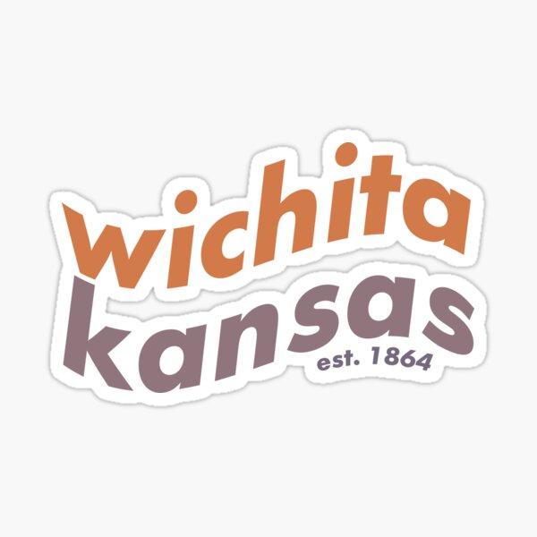 Wavy Wichita Sticker