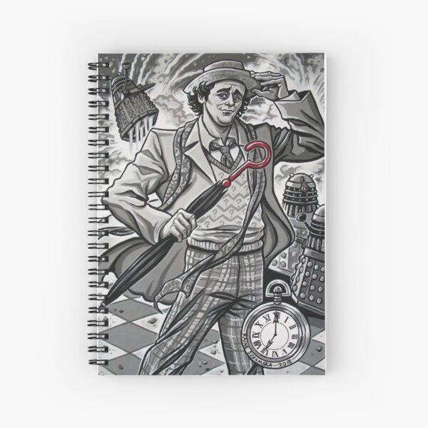 The Seventh Doctor Spiral Notebook