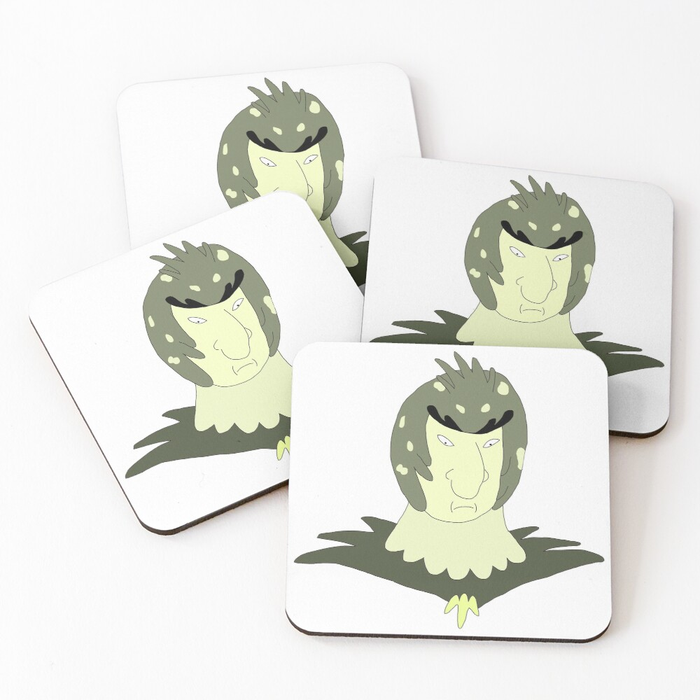 Bird Person can arrange that Rick and Morty Fan art Coasters (Set of 4)
