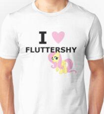 I Heart Fluttershy Unisex T-Shirt
