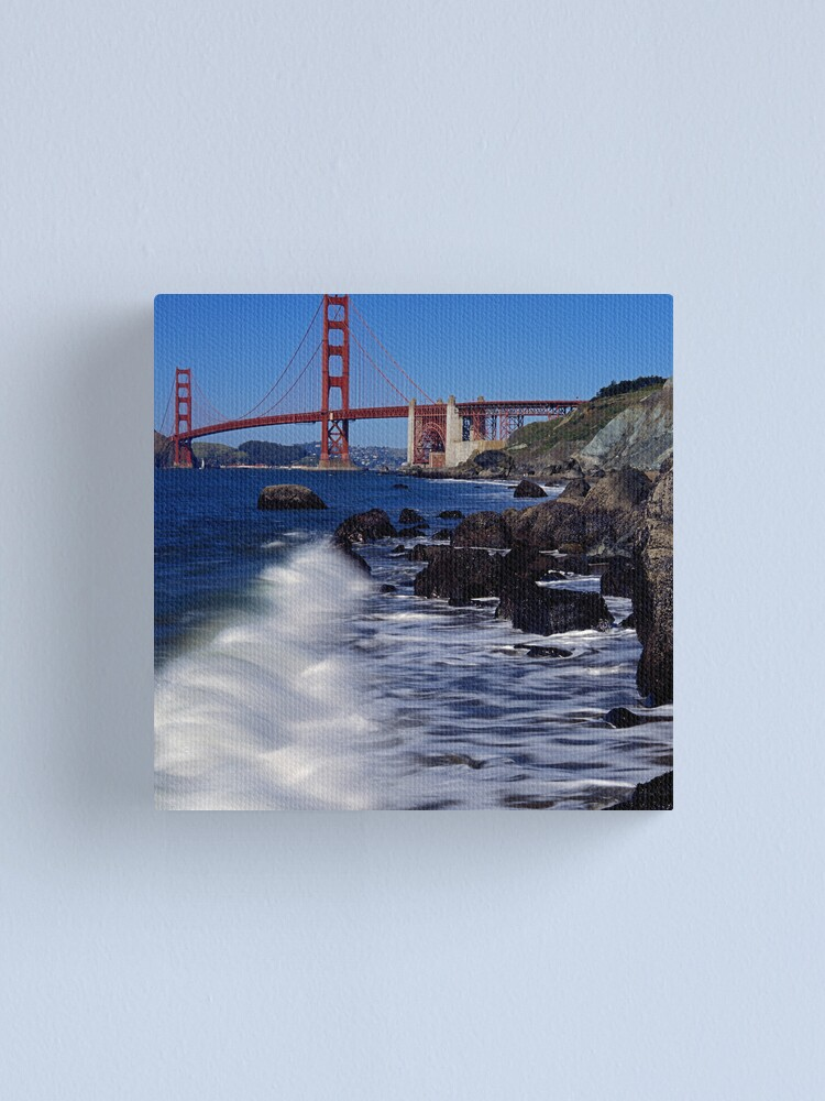 Alternate view of Marshall's Beach, San Francisco Canvas Print