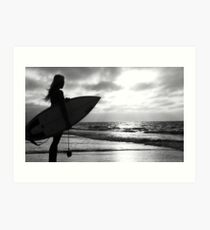 Whites Beach Art Print