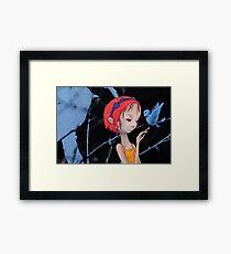 Inner Bluebird Framed Print