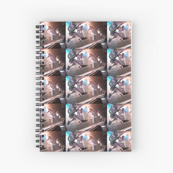 The 2 Skinnee J's Spiral Notebook