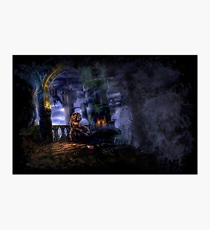 Castlevania: Vampire Variations- Bridge Photographic Print