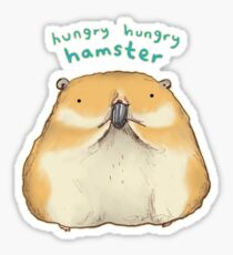 Hungry Hungry Hamster Sticker