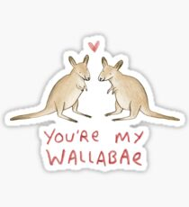 Wallabae Sticker