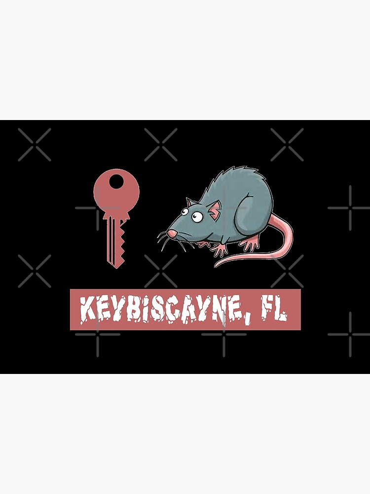 Key Rat Keybiscayne, FL T-Shirt Design by Mbranco