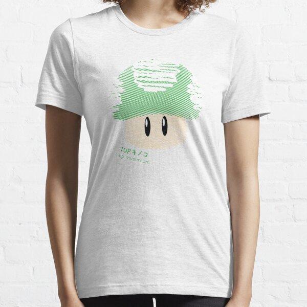 1-UP mushroom -scribble- Essential T-Shirt