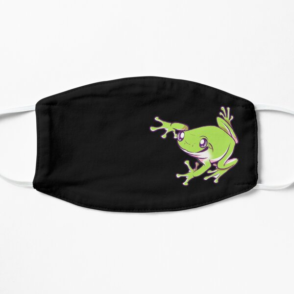 Dumpy Tree frog Flat Mask