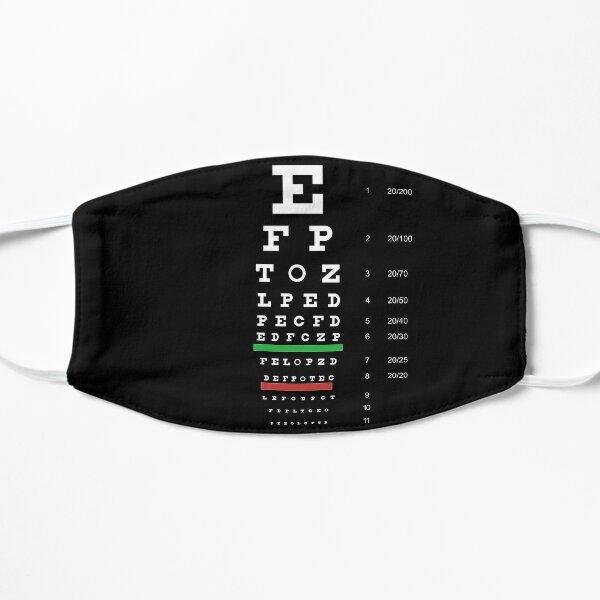 Snellen Eye Chart Mask
