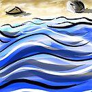 Caligrapher's Beach by LightningArts