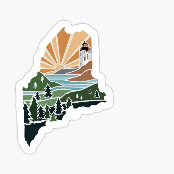 Maine Sticker Sticker