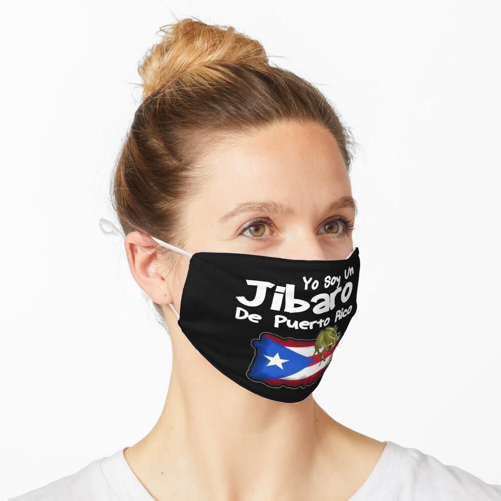 Yo Soy Un Jibaro De Puerto Rico Design Mask