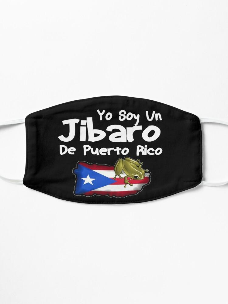 Alternate view of Yo Soy Un Jibaro De Puerto Rico Design Mask