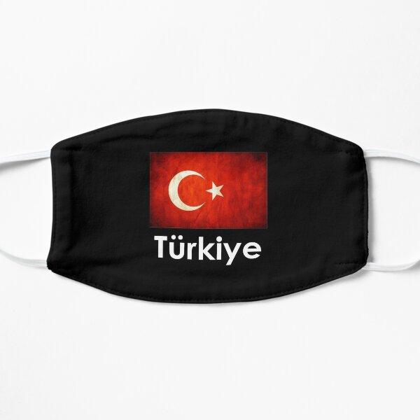 Turkiye Turkey Flag Gift design Flat Mask