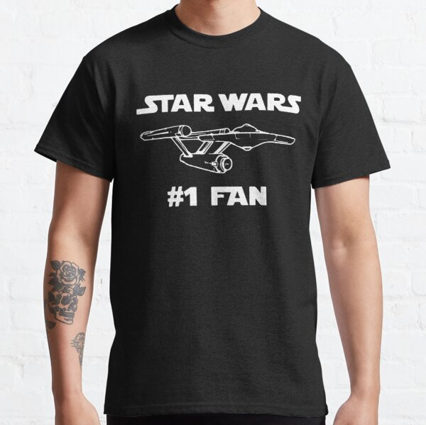 WHITE ON BLACK FANDOM Classic T-Shirt