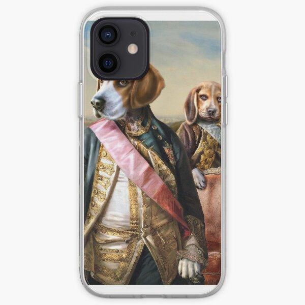 Beagle Dog Portrait - Tarzan and Archie iPhone Soft Case