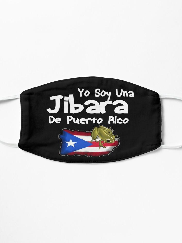 Alternate view of Yo Soy Una Jibara De Puerto Rico Design Mask