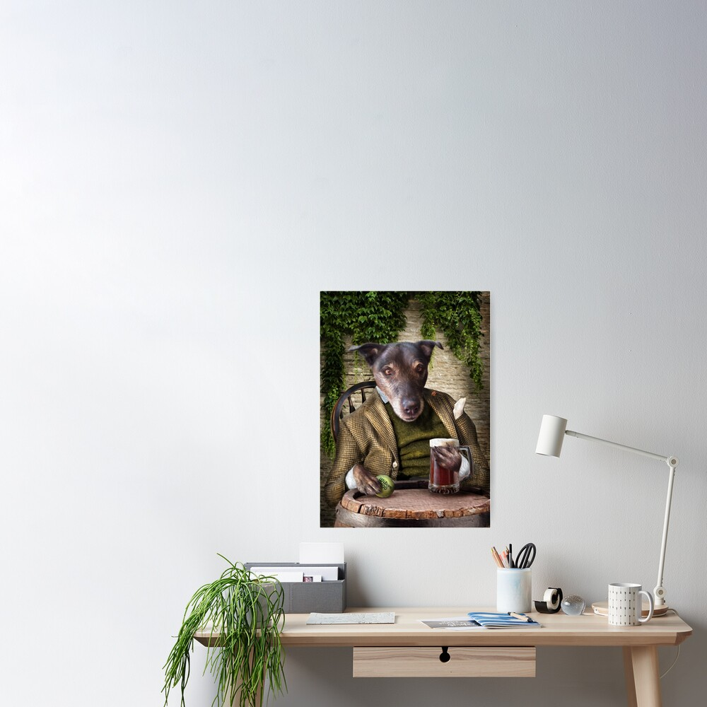 Dog Portrait - Jack Poster