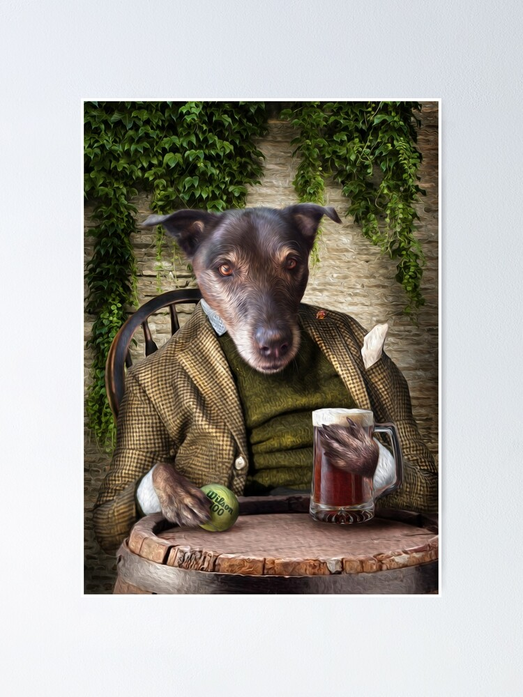 Alternate view of Dog Portrait - Jack Poster