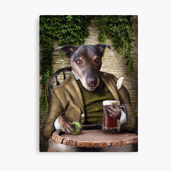 Dog Portrait - Jack Canvas Print