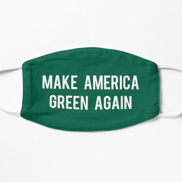 Make America Green Again Flat Mask