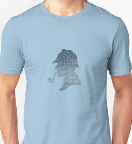 Sherlock Holmes - Profile T-Shirt