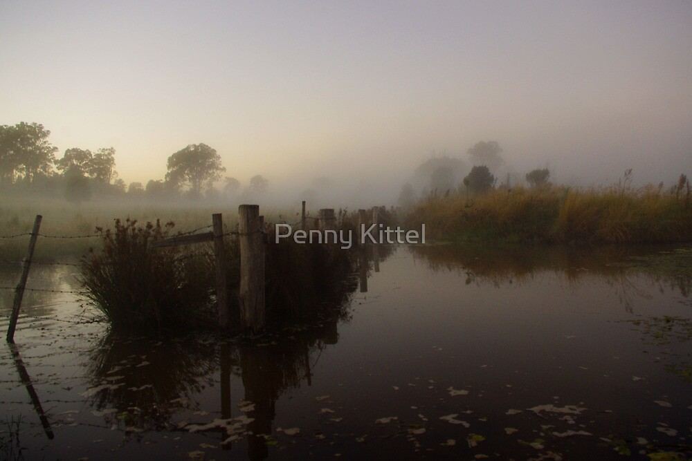 Divided waters by Penny Kittel
