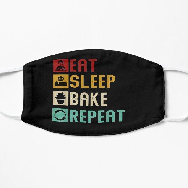 Eat Sleep Bake Repeat Baking Baker Bakery Mask