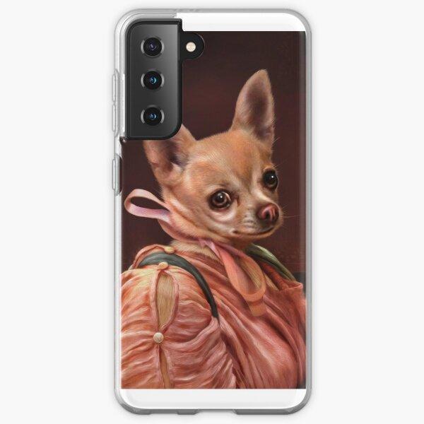 Chihuahua Portrait - Mabel Samsung Galaxy Soft Case