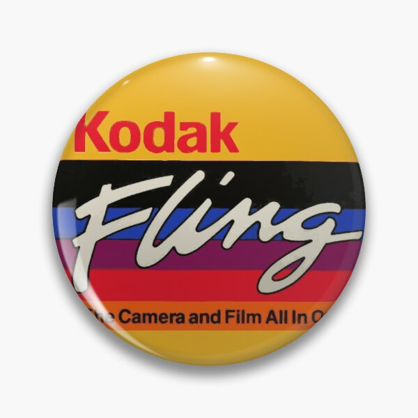 Classic, vintage, kodak t-shirt Pin