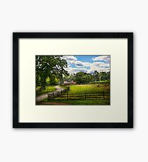 Country - The pasture  Framed Print