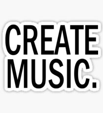 Austin Carlile Create Music Sticker