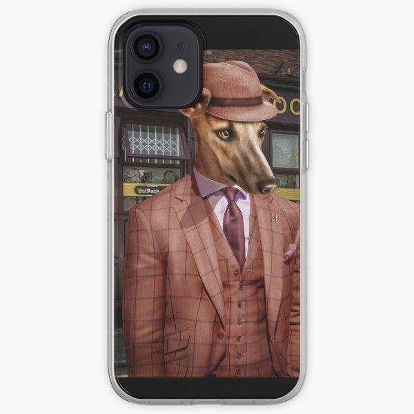 Greyhound Dog Portrait - Wiley iPhone Soft Case