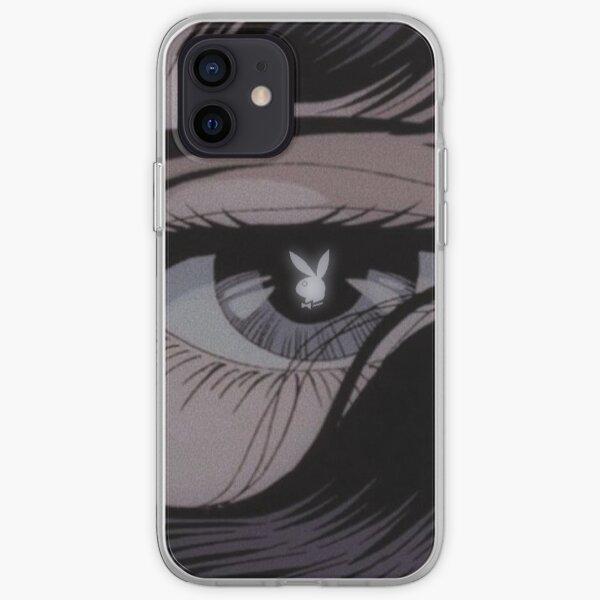 Playboy estética anime ojo Funda blanda para iPhone