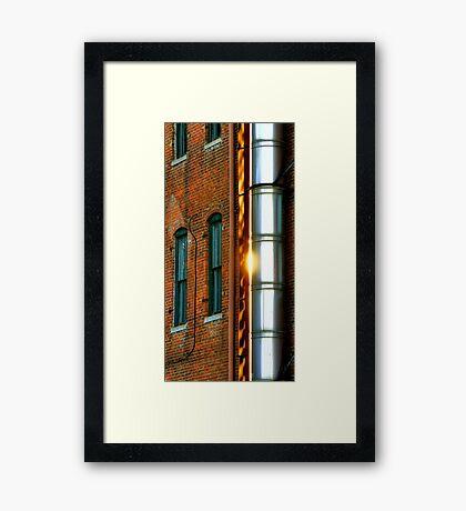 Pipe Framed Print