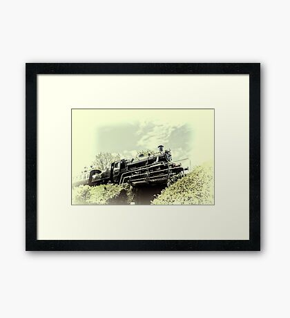 View from Below Framed Print