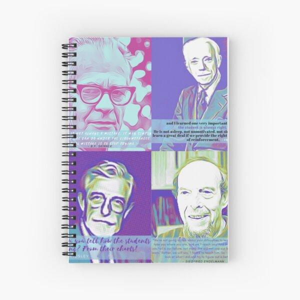 Behavior Analysis quotes Spiral Notebook
