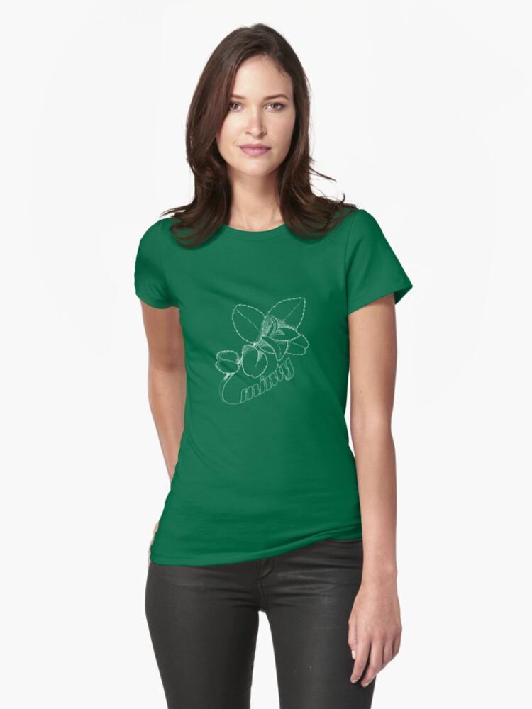 Minty Fresh Sensation, White version Womens T-Shirt Front