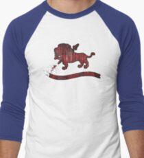Crest (Filled) Men's Baseball ¾ T-Shirt