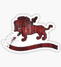 Crest (Filled) Sticker