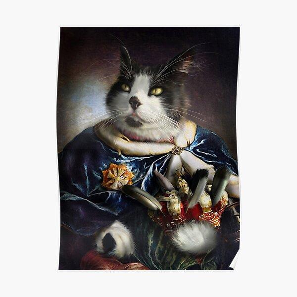 Cat Portrait - Bob  Poster