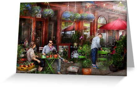 Cafe - Hoboken, NJ - A day out  by Mike  Savad